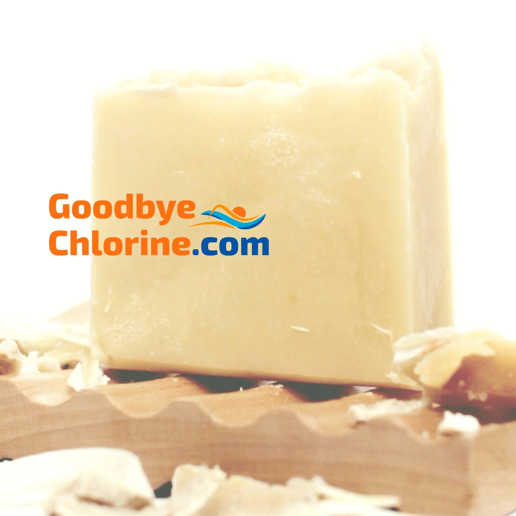 Anti-chlorine soap for swimmers by Goodbye Chlorine