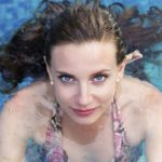 Protect hair color from chlorine before and after swimming.