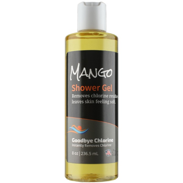 Anti-Chlorine Shower Gel for Swimmers.