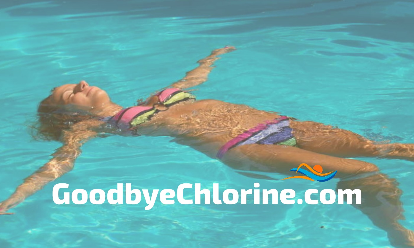 swimmers get chlorine off