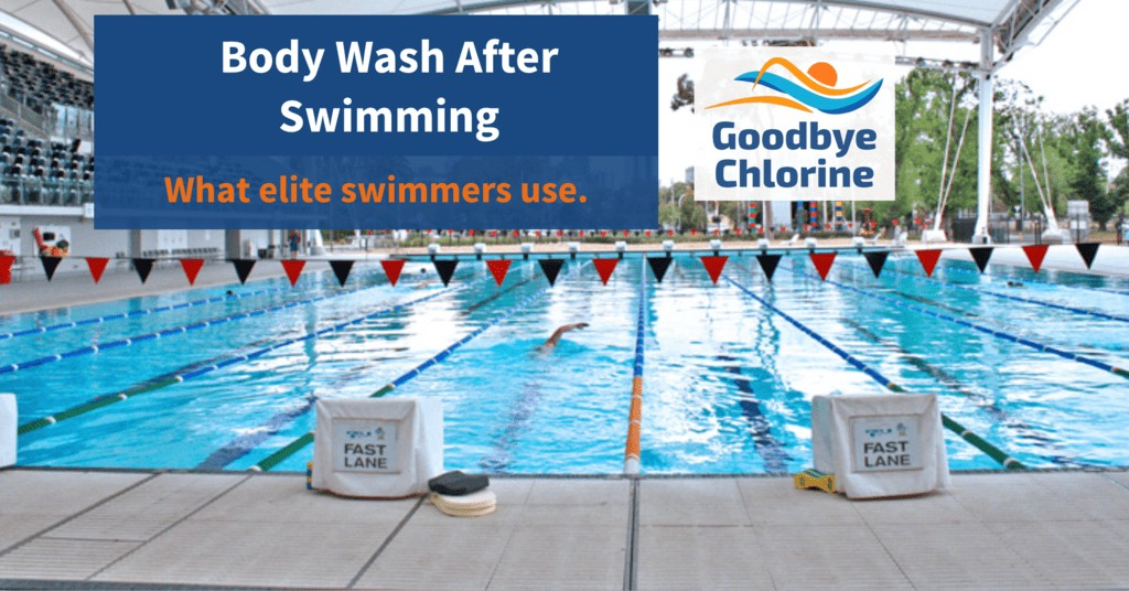 Body Wash After Swimming What elite swimmers use