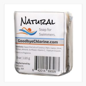 Anti-Chlorine Soap, and other essentials for swimmers.