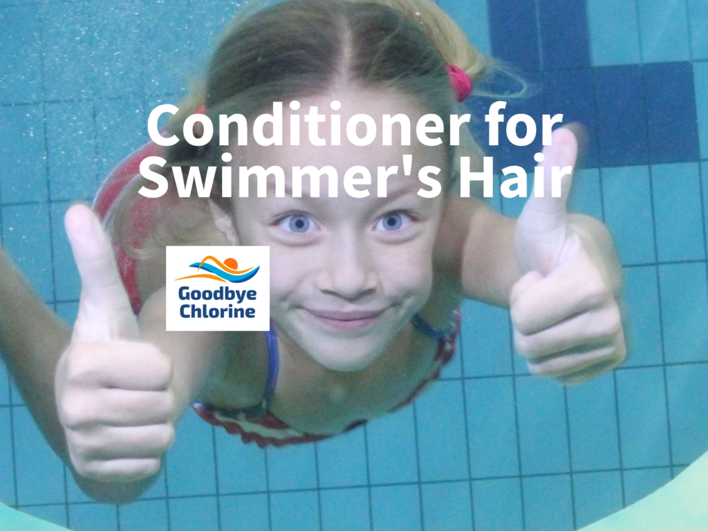 conditioner for swimmer's hair