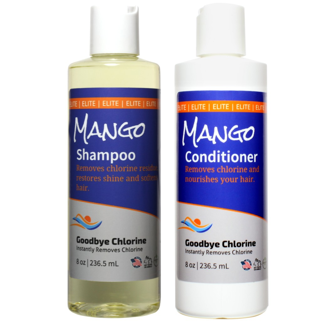 Anti-Chlorine Shampoo and Conditioner for swimmers