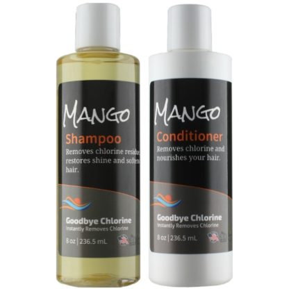 shampoo and conditioner for swimmers' hair