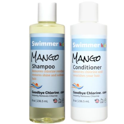 Anti-Chlorine Shampoo and Conditioner