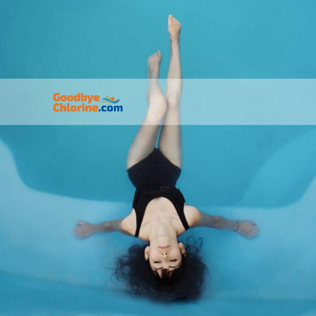 Shampoo Swimmers Hair by Goodbye Chlorine