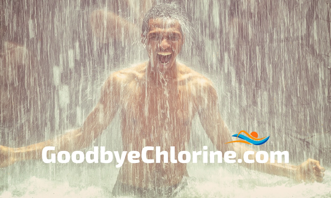 chlorine removal body wash for swimmers