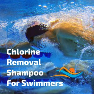 Chlorine removal shampoo for swimmers