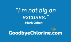 not big on excuses, mark cuban