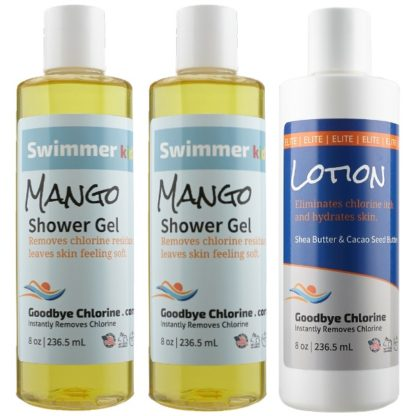 body care for swimmers