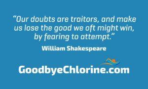 doubts are traitors self-talk